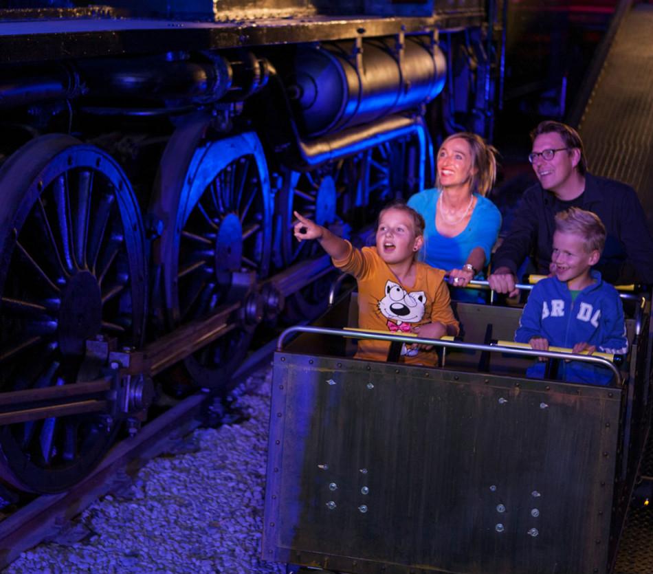 schoolreisje het spoorwegmuseum