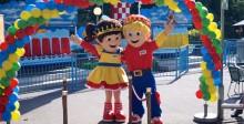 Park Tivoli viert verjaardag van Tiffie & Toffi!