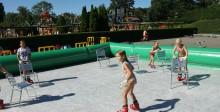 Schaatsen in de zomer bij Linnaeushof!