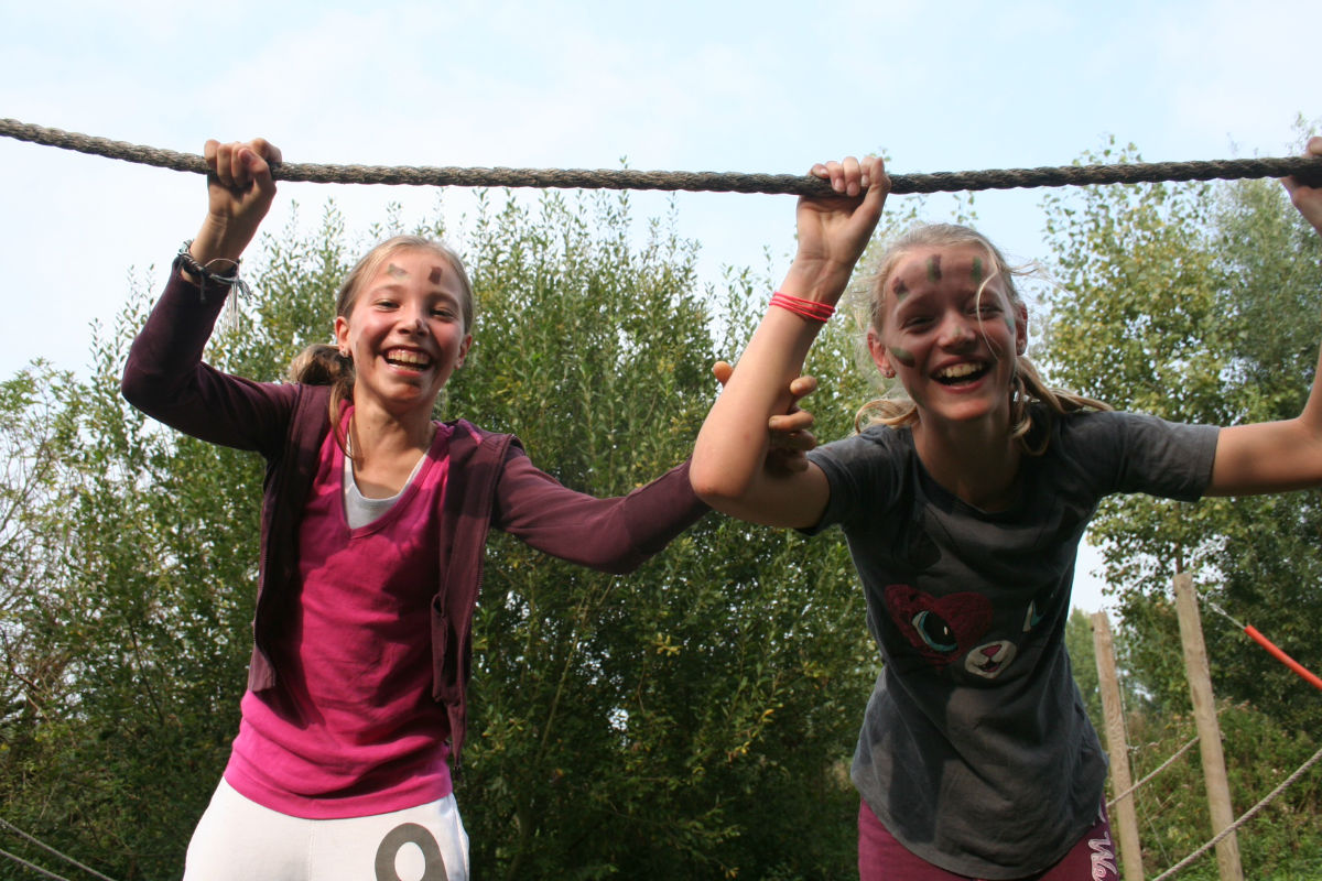 Outdoorpark SEC Survivals survivallen herfstvakantie
